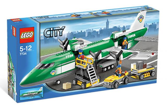 LEGO City 7734 L'avion cargo