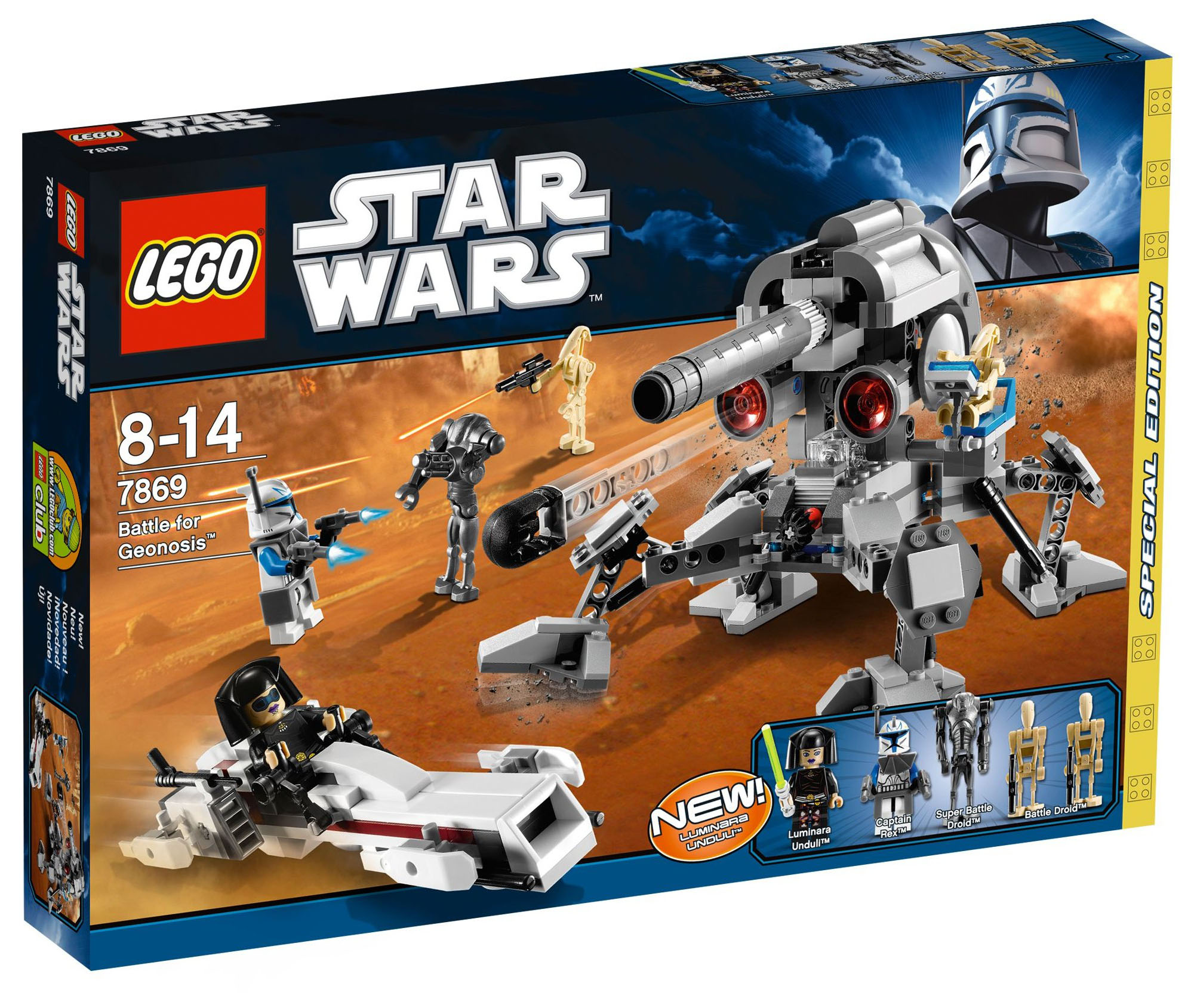 Lego star wars 7869 pas cher battle for geonosis - Bd lego star wars ...