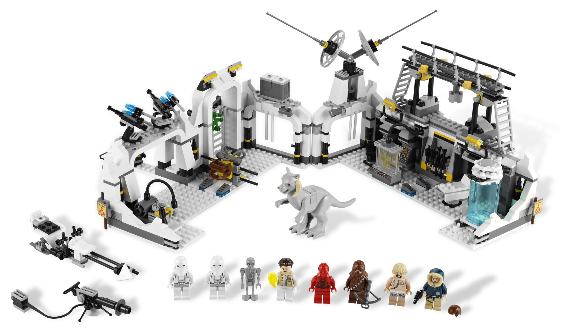 lego star wars 7879 pas cher hoth echo base. Black Bedroom Furniture Sets. Home Design Ideas