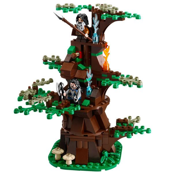 lego le hobbit 79002 pas cher l 39 attaque des ouargues. Black Bedroom Furniture Sets. Home Design Ideas