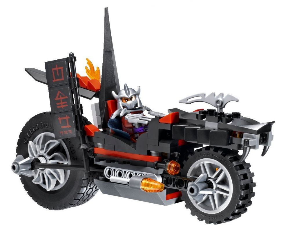 lego tortues ninja 79101 la moto dragon de shredder