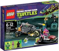 LEGO Tortues Ninja 79102 La poursuite en Carapace Furtive