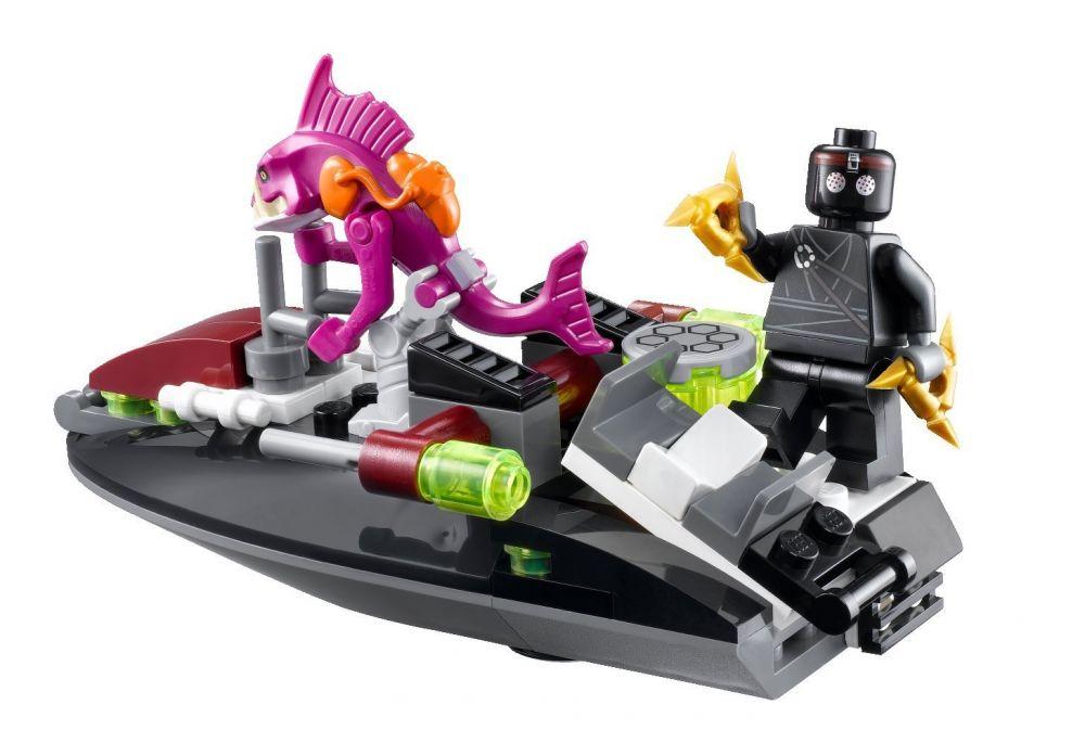 LEGO Tortues Ninja 79102 Pas Cher, La Poursuite En Carapace Furtive