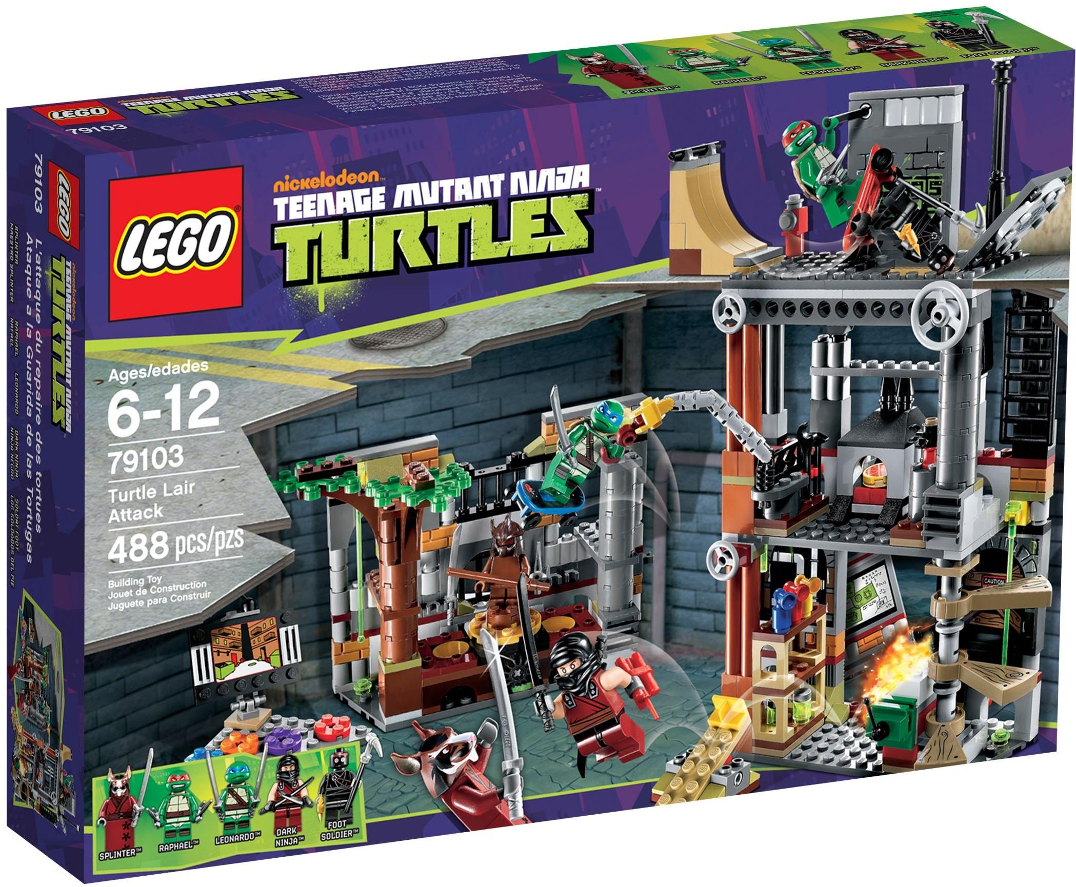 LEGO Tortues Ninja 79103 Pas Cher