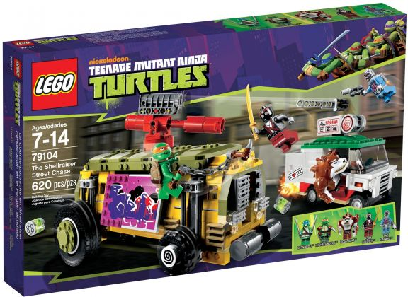 LEGO Tortues Ninja 79104 La course-poursuite en Shellraiser