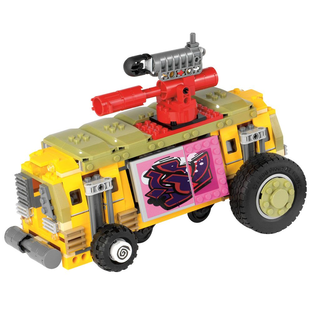 Lego tortues ninja 79104 pas cher la course poursuite en - Tortue ninja skateboard ...
