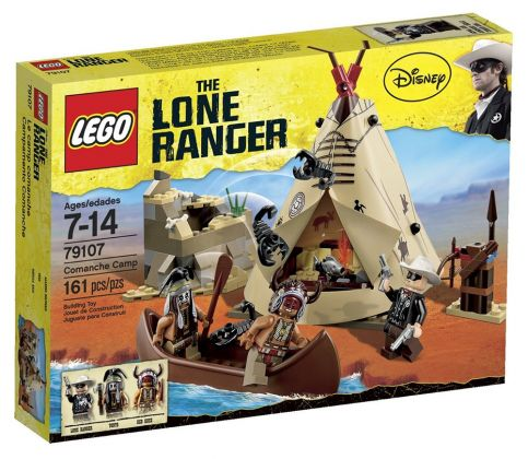 LEGO The Lone Ranger 79107 Le camp comanche