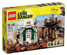 LEGO The Lone Ranger 79109 Le village Western