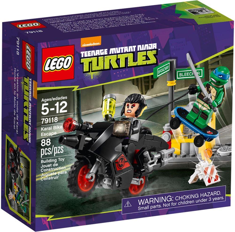 lego tortues ninja 79118 lvasion en moto de karai