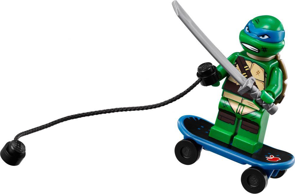 Lego tortues ninja 79118 pas cher l 39 vasion en moto de karai - Tortue ninja skateboard ...