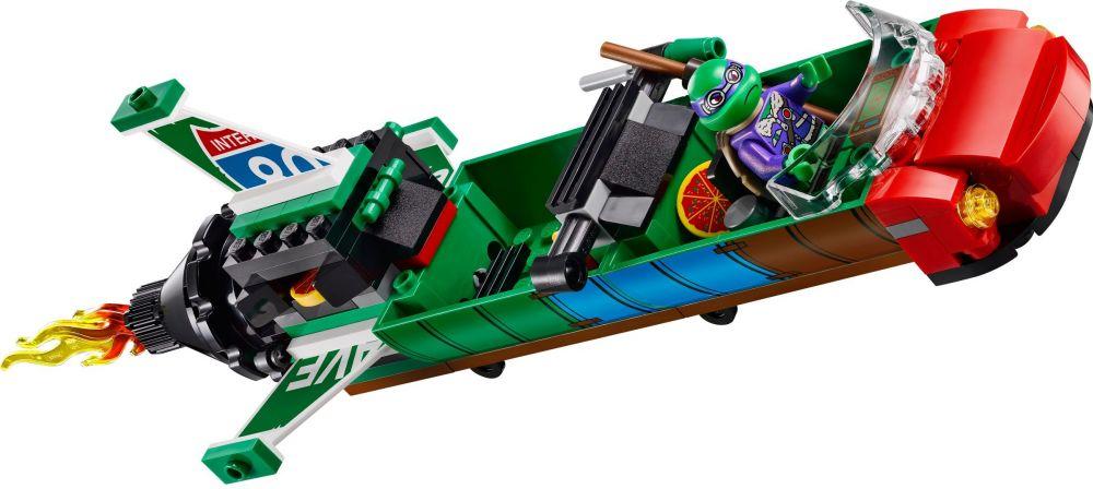 LEGO Tortues Ninja 79120 Pas Cher, L'attaque Aérienne En T-Rawket