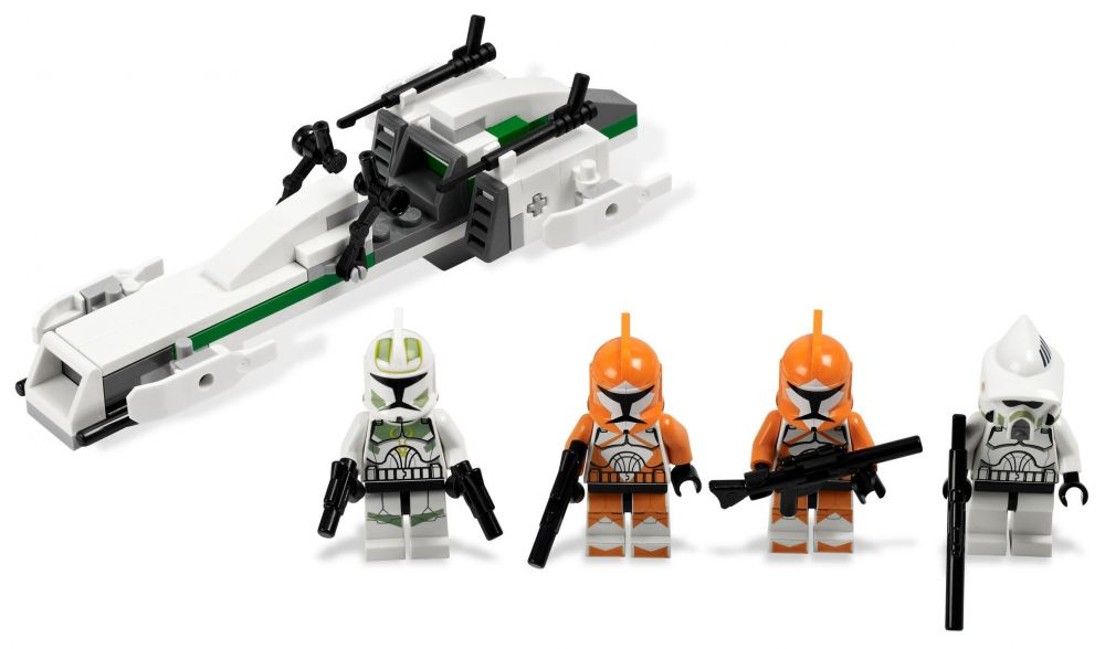 lego star wars 7913 pas cher clone trooper battle pack. Black Bedroom Furniture Sets. Home Design Ideas