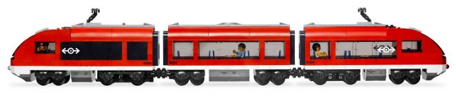 LEGO City 7938 Le train de passagers