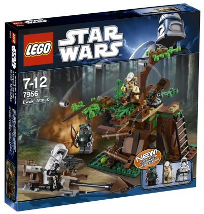LEGO Star Wars 7956 L'attaque Ewok