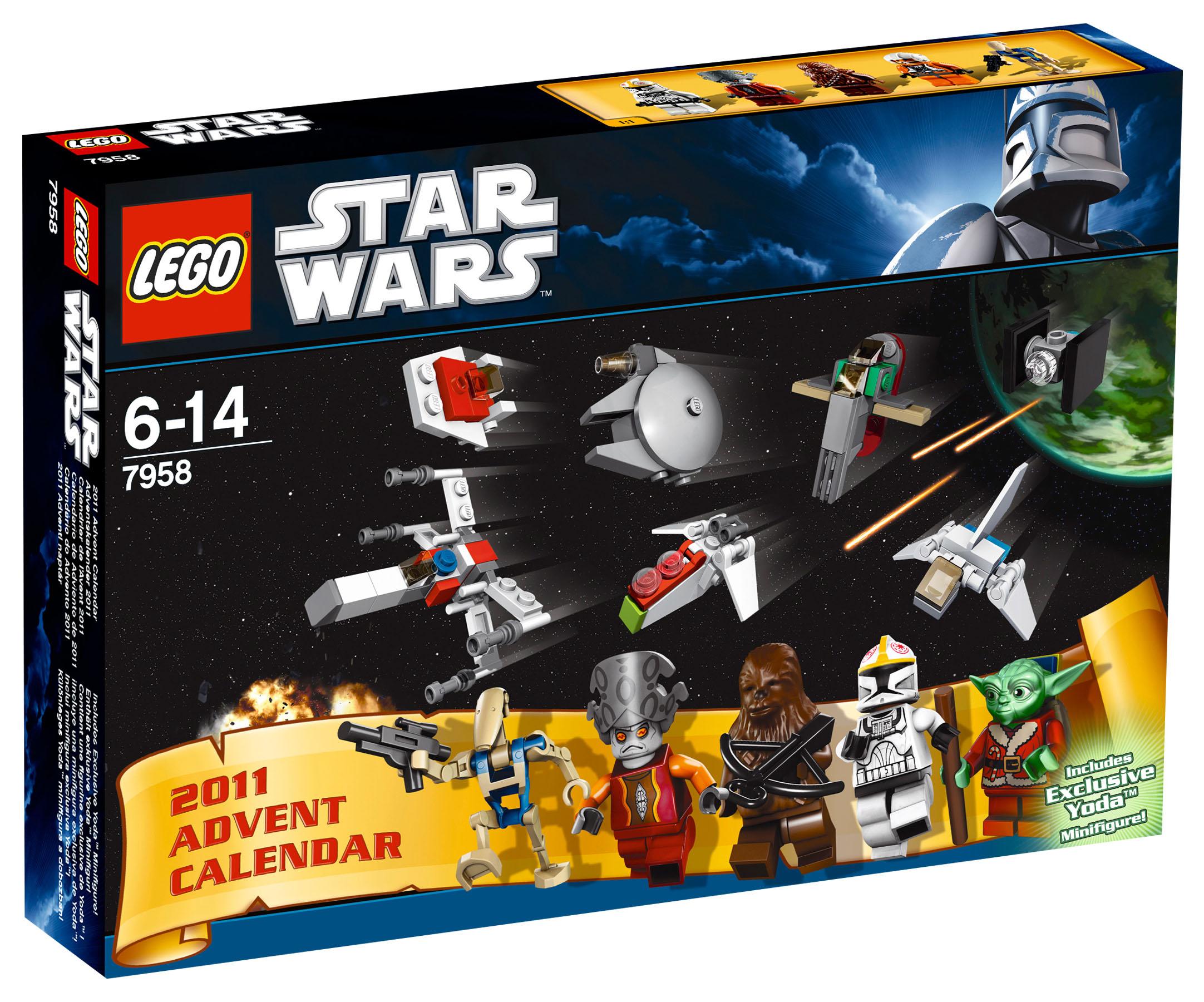 Lego saisonnier 7958 pas cher le calendrier de l 39 avent - Bd lego star wars ...