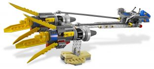LEGO Star Wars 7962 Anakin Skywalker and Sebulba's Podracers