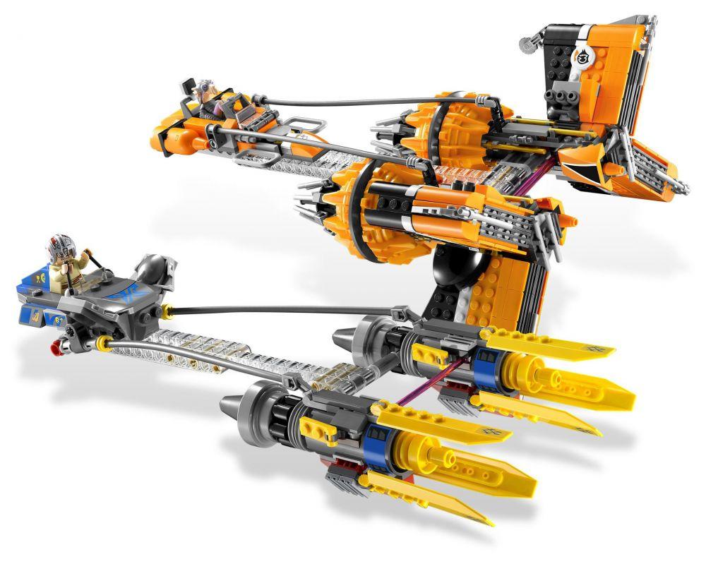 Lego star wars 7962 pas cher anakin skywalker and - Lego star wars vaisseau anakin ...