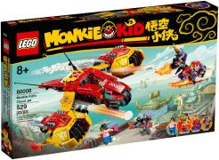 LEGO Monkie Kid 80008 L'avion de Monkie Kid