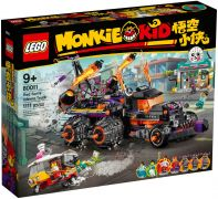 LEGO Monkie Kid 80011 Le camion Inferno de Red Son