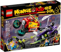 LEGO Monkie Kid 80018 La moto nuage de Monkie Kid