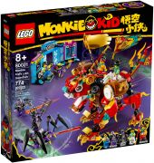 LEGO Monkie Kid 80021 Le lion de garde de Monkie Kid