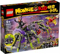 LEGO Monkie Kid 80022 La base arachnide de Spider Queen
