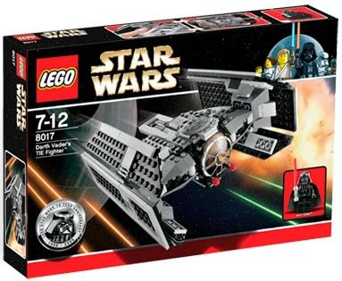 LEGO Star Wars 8017 Dark Vador TIE Fighter