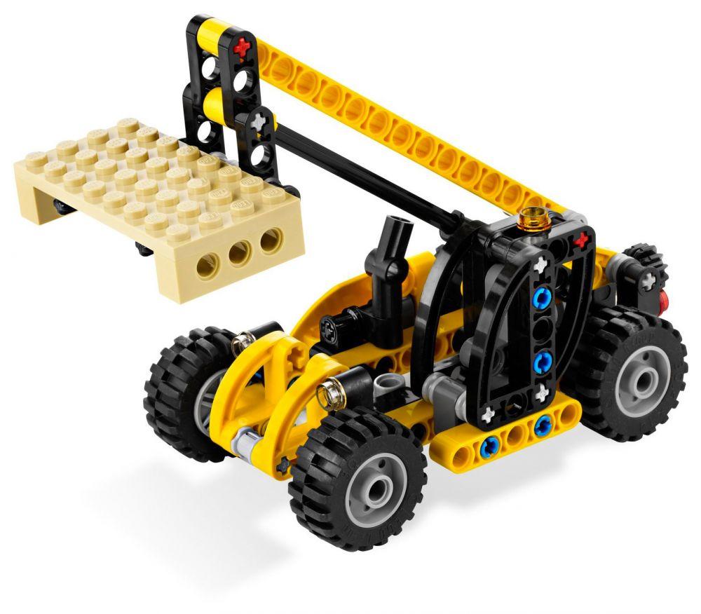 lego technic 8045 pas cher le mini monte charges. Black Bedroom Furniture Sets. Home Design Ideas