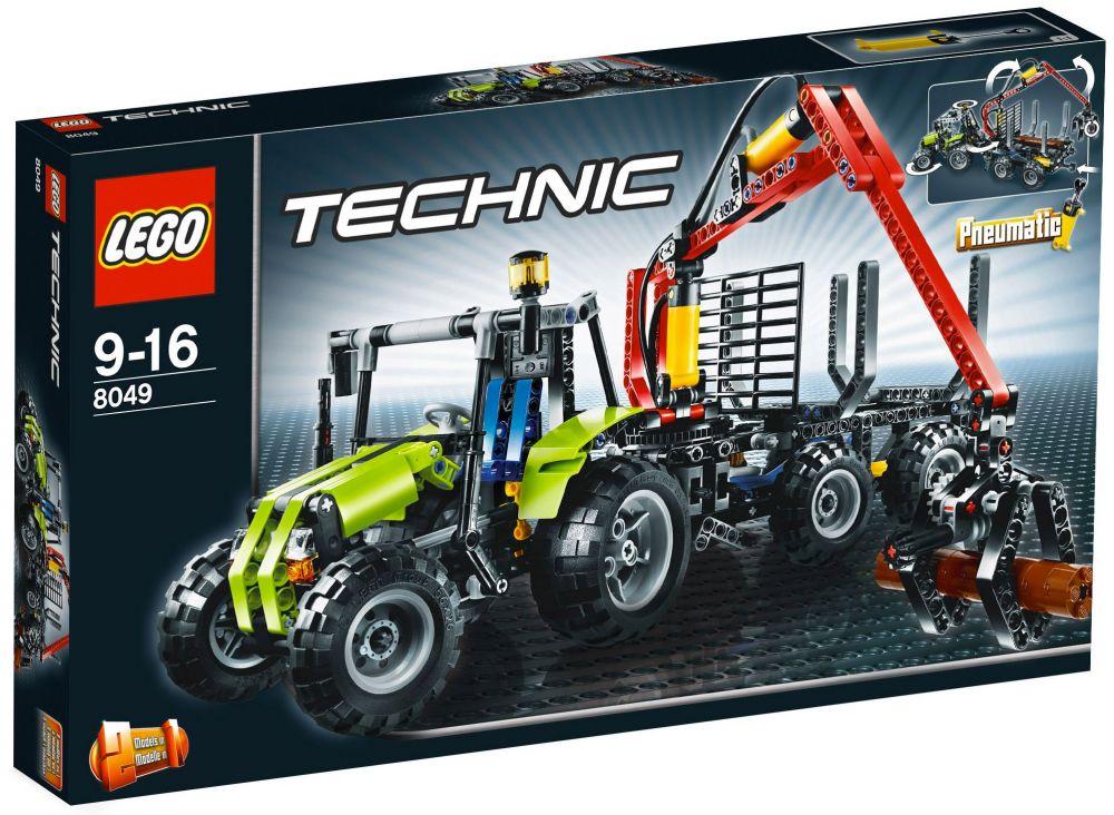 LEGO Technic 8049 La chargeuse à bois