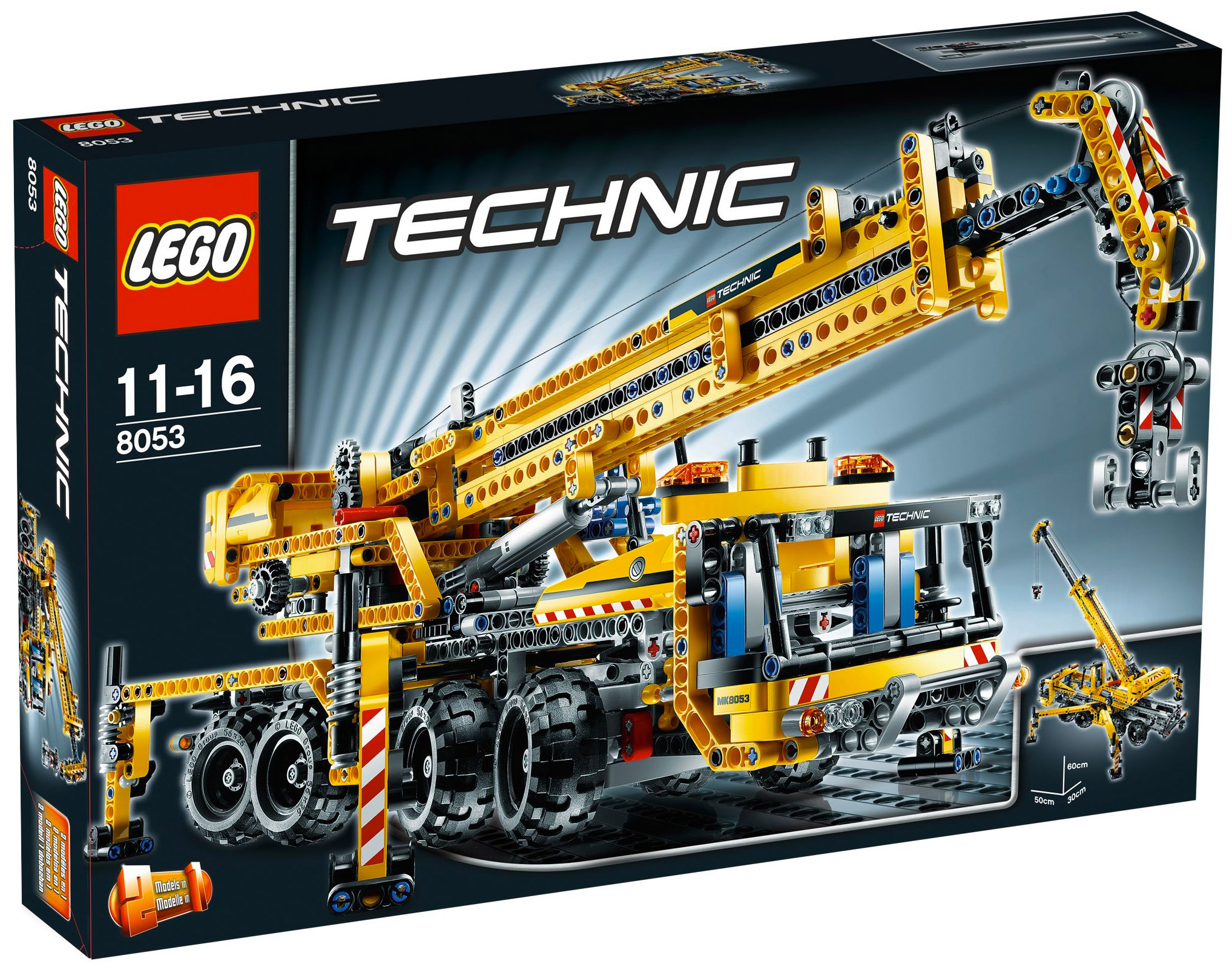 lego technic 8053 pas cher la grue mobile. Black Bedroom Furniture Sets. Home Design Ideas