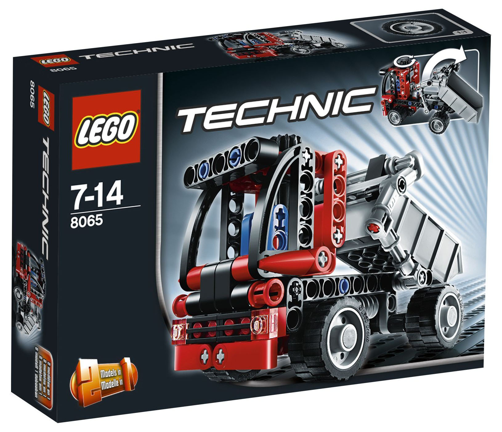Lego Technic 8065 Pas Cher Le Mini Camion Benne