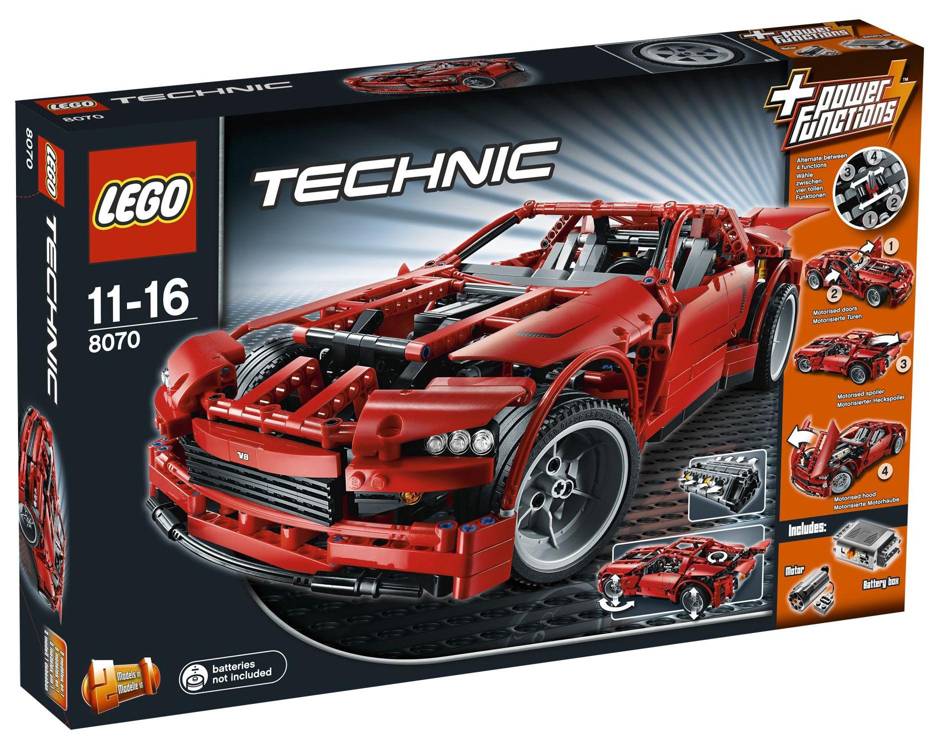 Lego Technic 8070 Pas Cher Super Car