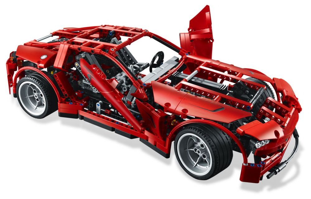 lego technic 8070 pas cher super car. Black Bedroom Furniture Sets. Home Design Ideas