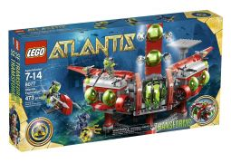 LEGO Atlantis 8077 Le QG d'exploration Atlantis