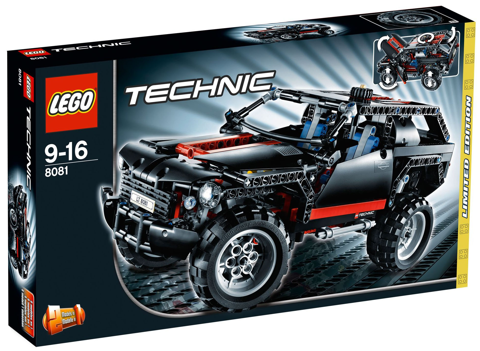 lego technic 8081 pas cher extreme cruiser. Black Bedroom Furniture Sets. Home Design Ideas
