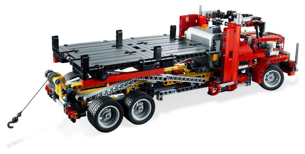 Camion Lego Pas Technic 8109 CherLe Remorque 8wOn0Pk