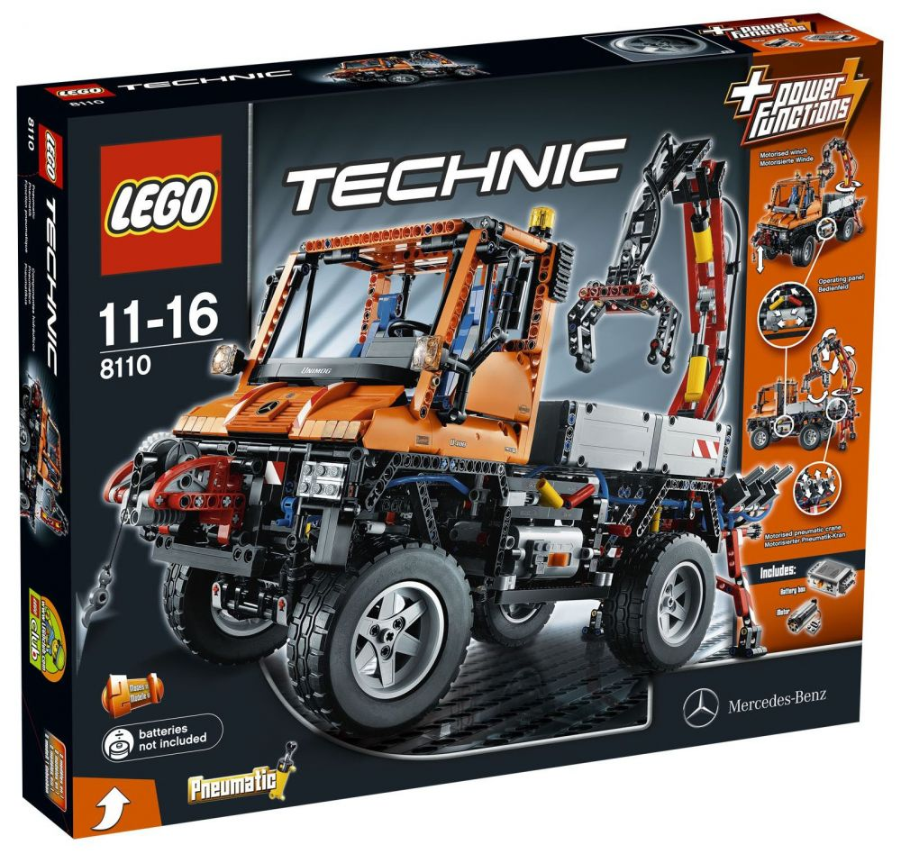 lego technic 8110 pas cher mercedes benz unimog u 400. Black Bedroom Furniture Sets. Home Design Ideas