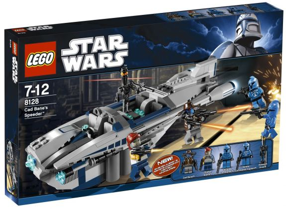 LEGO Star Wars 8128 Cad Bane's Speeder