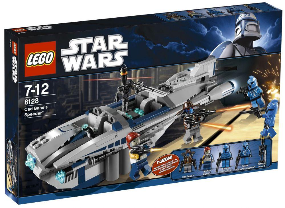 Wars Bane's Star Cad 8128 Speeder Lego eIE9bYDWH2