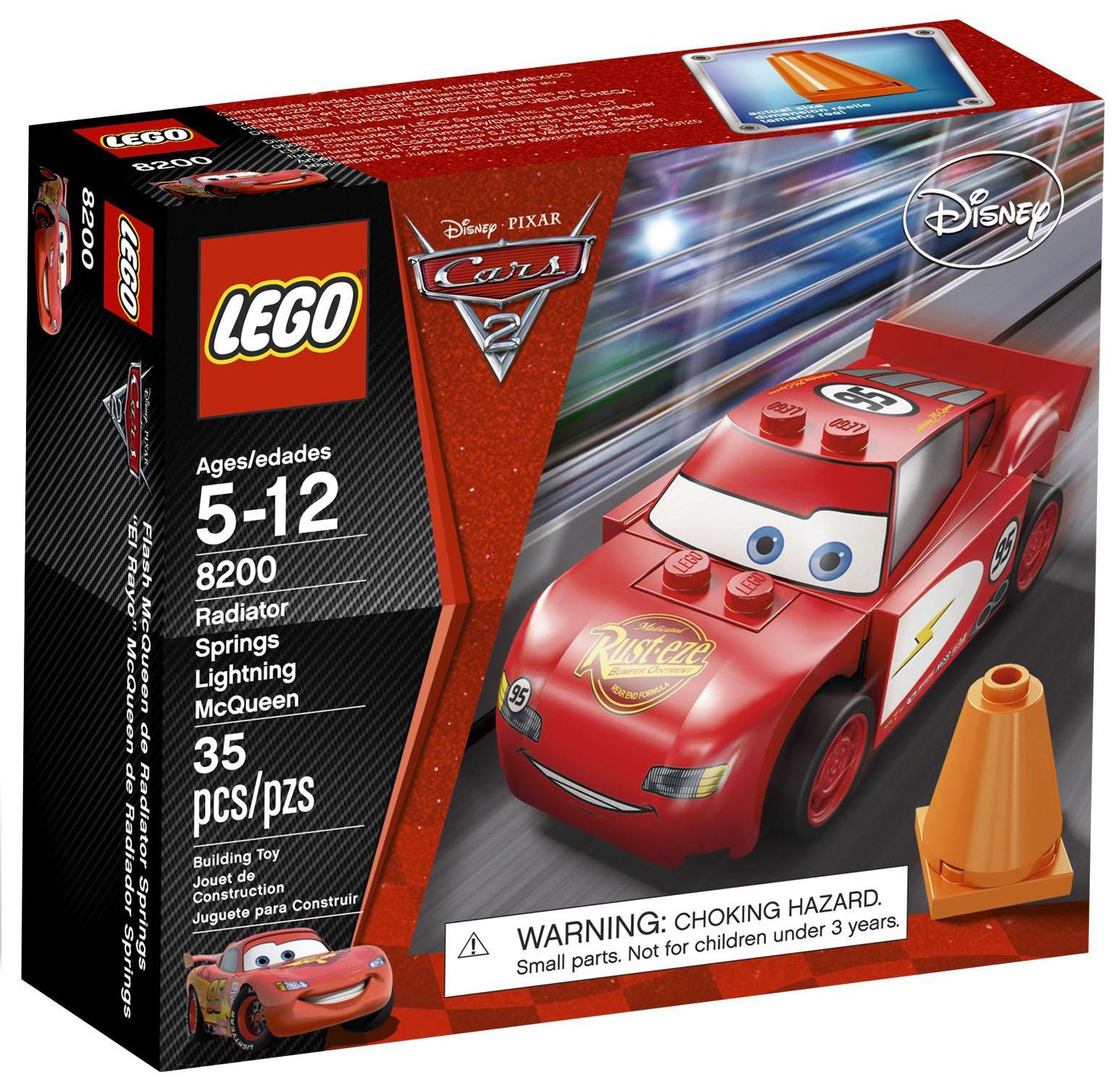 Lego cars 8200 pas cher flash mcqueen - Image de flash mcqueen ...