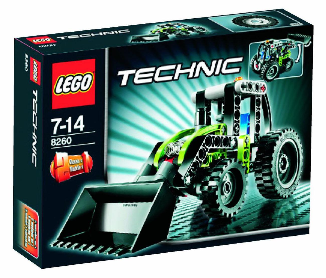 lego technic 8260 pas cher le mini tracteur. Black Bedroom Furniture Sets. Home Design Ideas