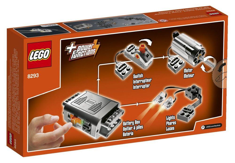 lego power functions 8293 pas cher ensemble moteur. Black Bedroom Furniture Sets. Home Design Ideas
