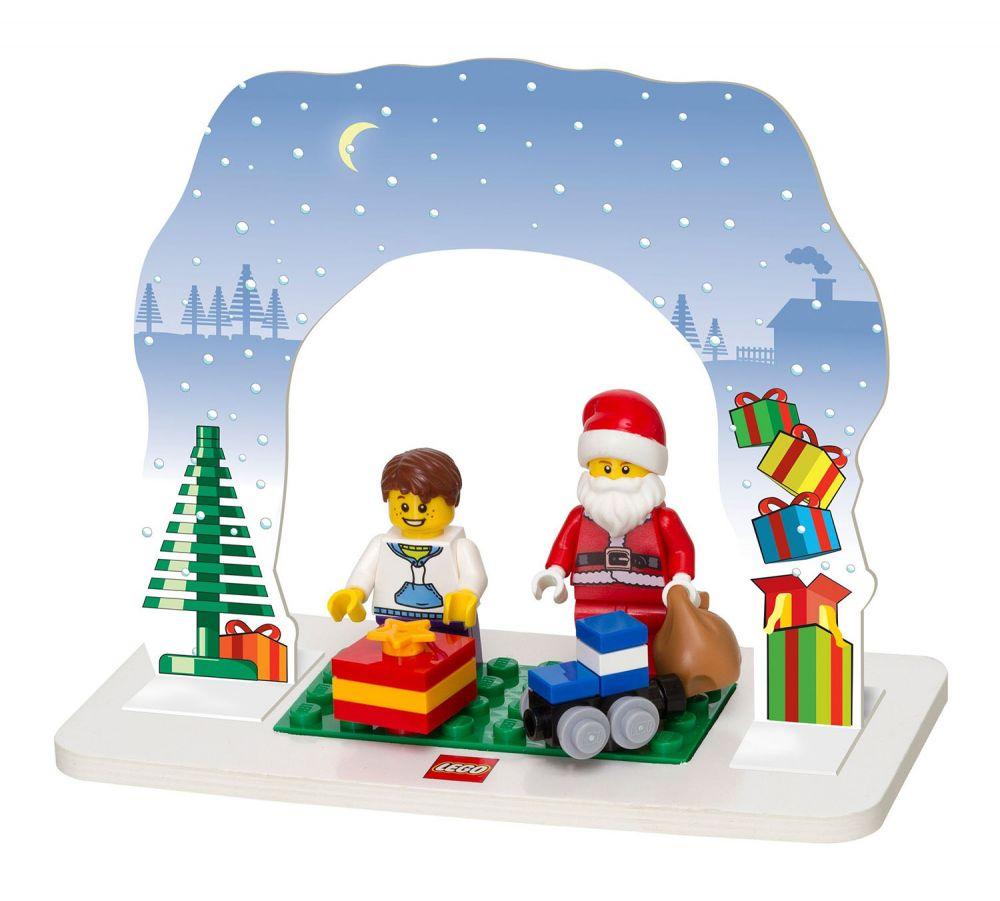 Lego saisonnier 850939 pas cher ensemble p re no l - Comment faire une ville lego city ...