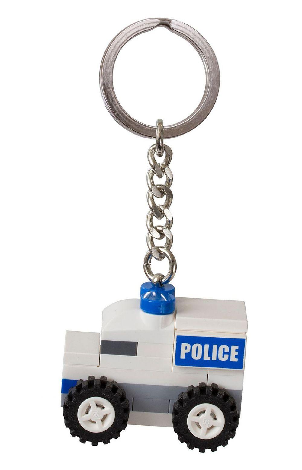 Lego objets divers 850953 pas cher porte bonheur voiture de police - Porte bonheur pour voiture ...