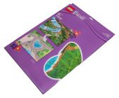 LEGO Objets divers 851325 Tapis de jeu de la jungle LEGO Friends