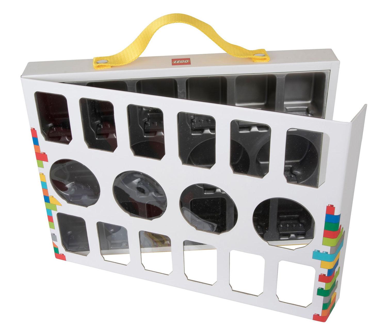 lego rangement 851399 pas cher bo te de transport pour figurines. Black Bedroom Furniture Sets. Home Design Ideas