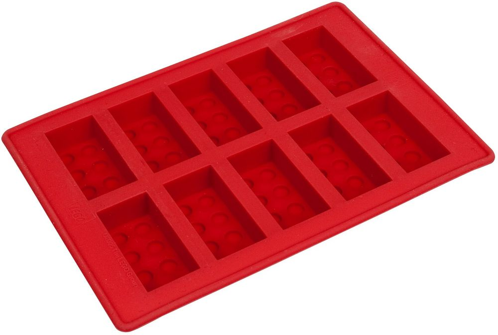 lego objets divers 852768 pas cher bac gla ons en forme de brique lego rouge. Black Bedroom Furniture Sets. Home Design Ideas