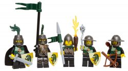 LEGO Kingdoms 852922 Ensemble de combat Dragon