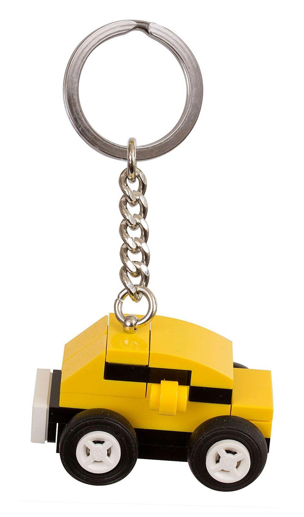 lego porte cl s 853573 pas cher porte bonheur voiture jaune lego. Black Bedroom Furniture Sets. Home Design Ideas