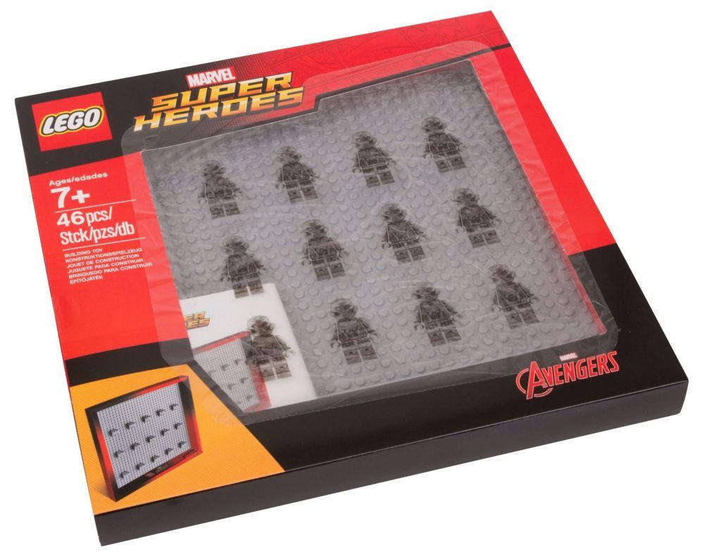 Bien connu LEGO Rangement 853611 pas cher - Cadre pour figurines LEGO Marvel  WK02